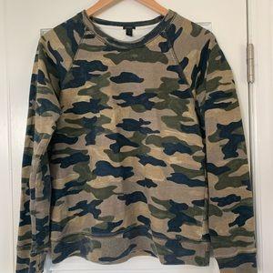Camouflage JCrew Sweatshirt
